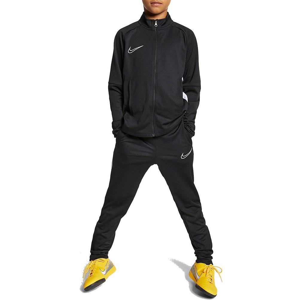 tienda de liquidación lista nueva Donde comprar Detalles de Chándal Niño Nike Dri-Fit Academy Negra Código AO0794-010