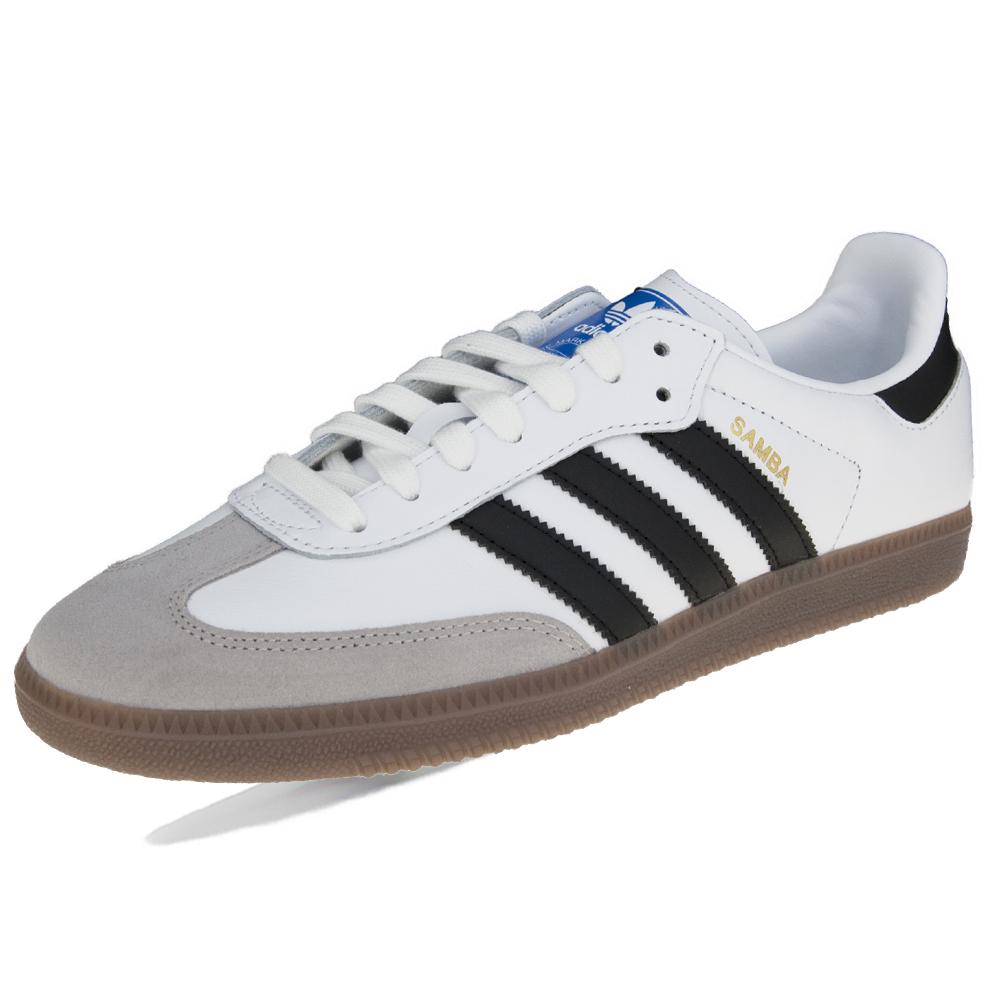 Sur Chaussures Détails B75806 Og Blanc Adidas Samba EH9D2I