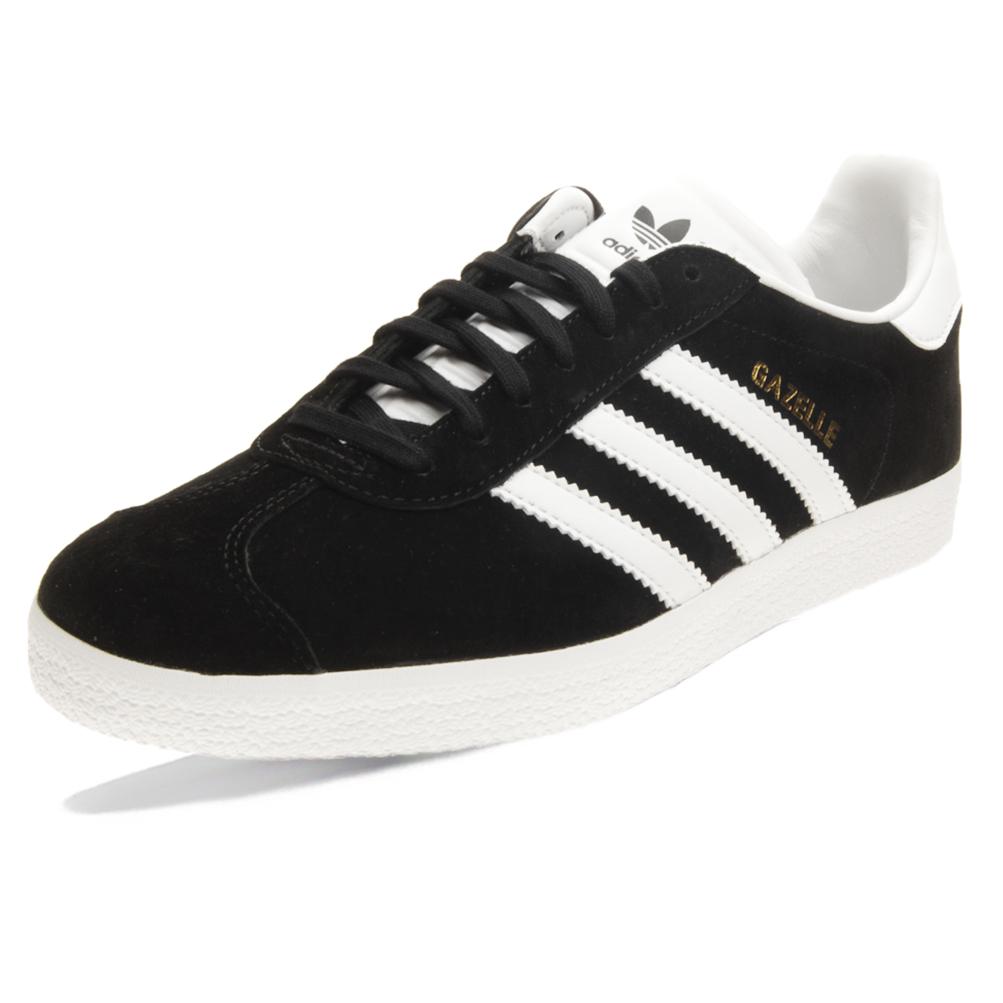Dettagli su Scarpe Adidas Gazelle Taglia 44 BB5476 Nero