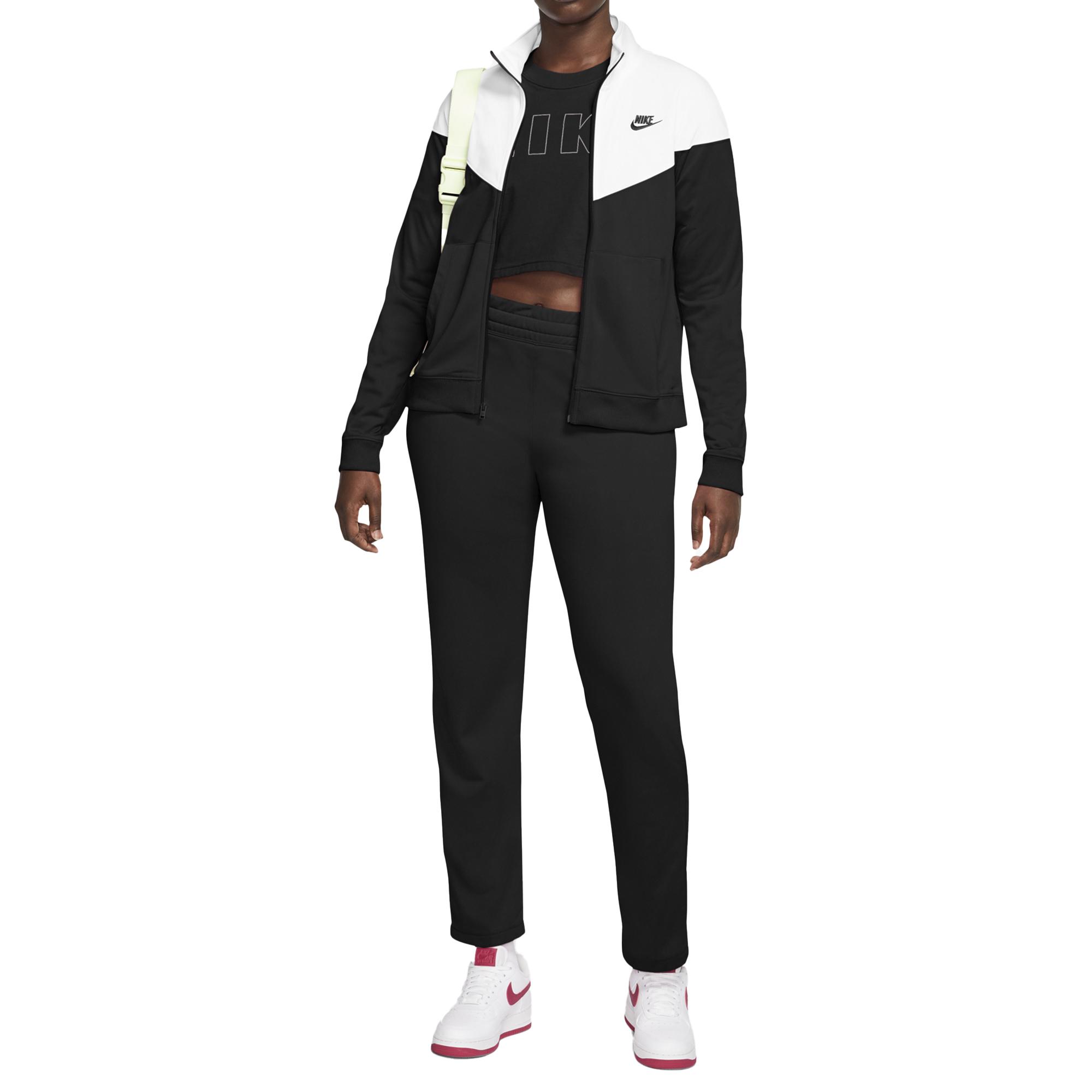 Detalles de Chándal Mujer Nike Ropa Deportiva Pk Negra Código BV4958 010