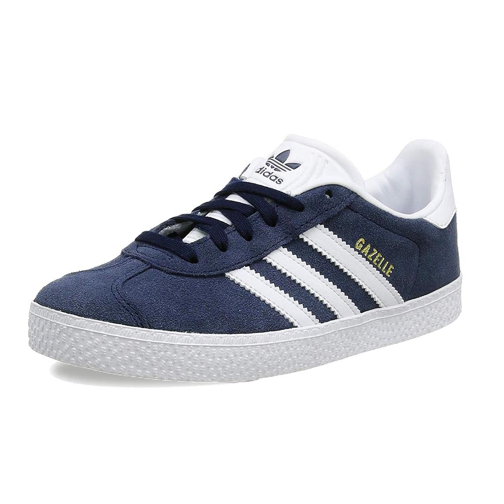 Dettagli su Scarpe Adidas Gazelle C BY9162 Blu