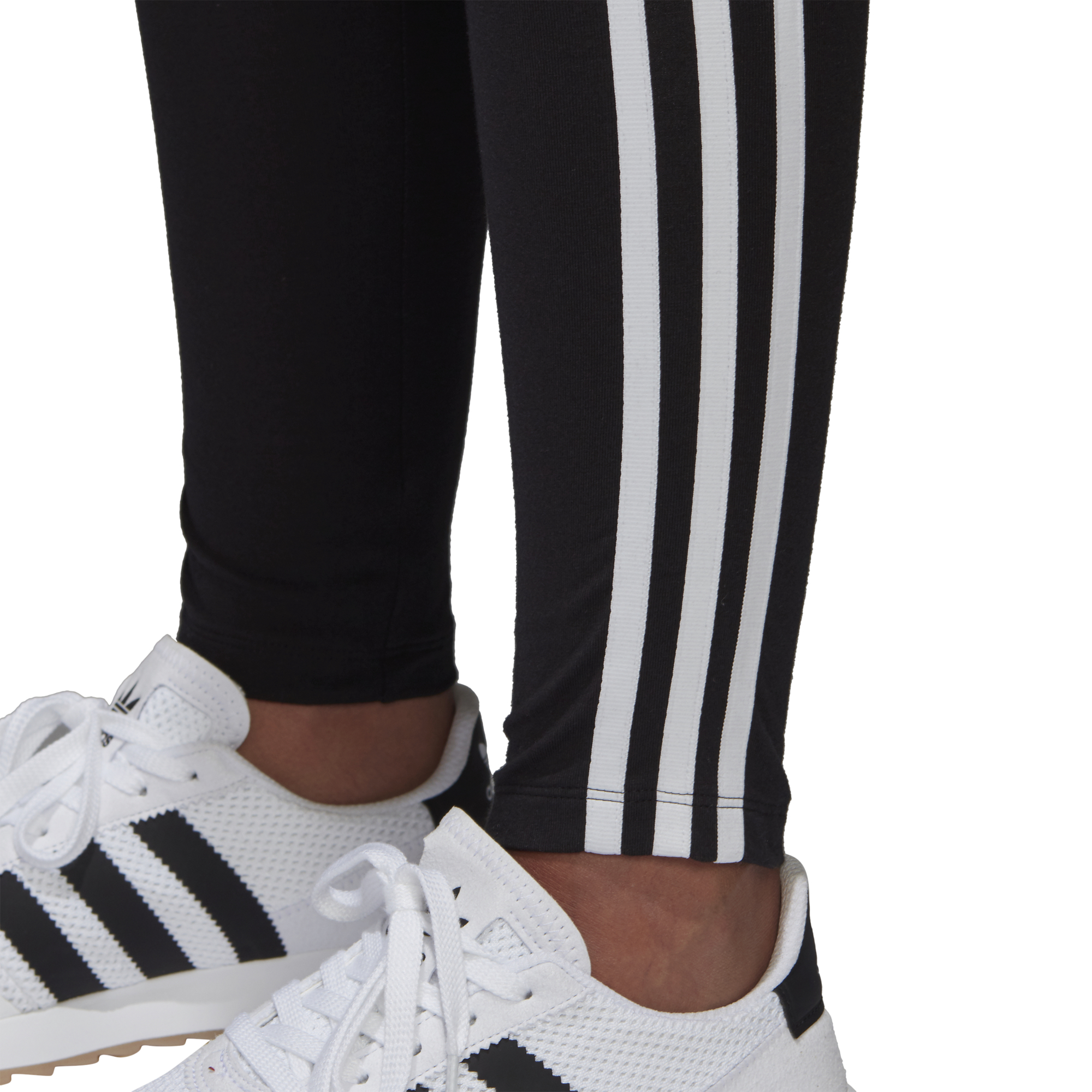Détails sur Leggings Adidas Originals 3 stripes Nero Codice CE2441