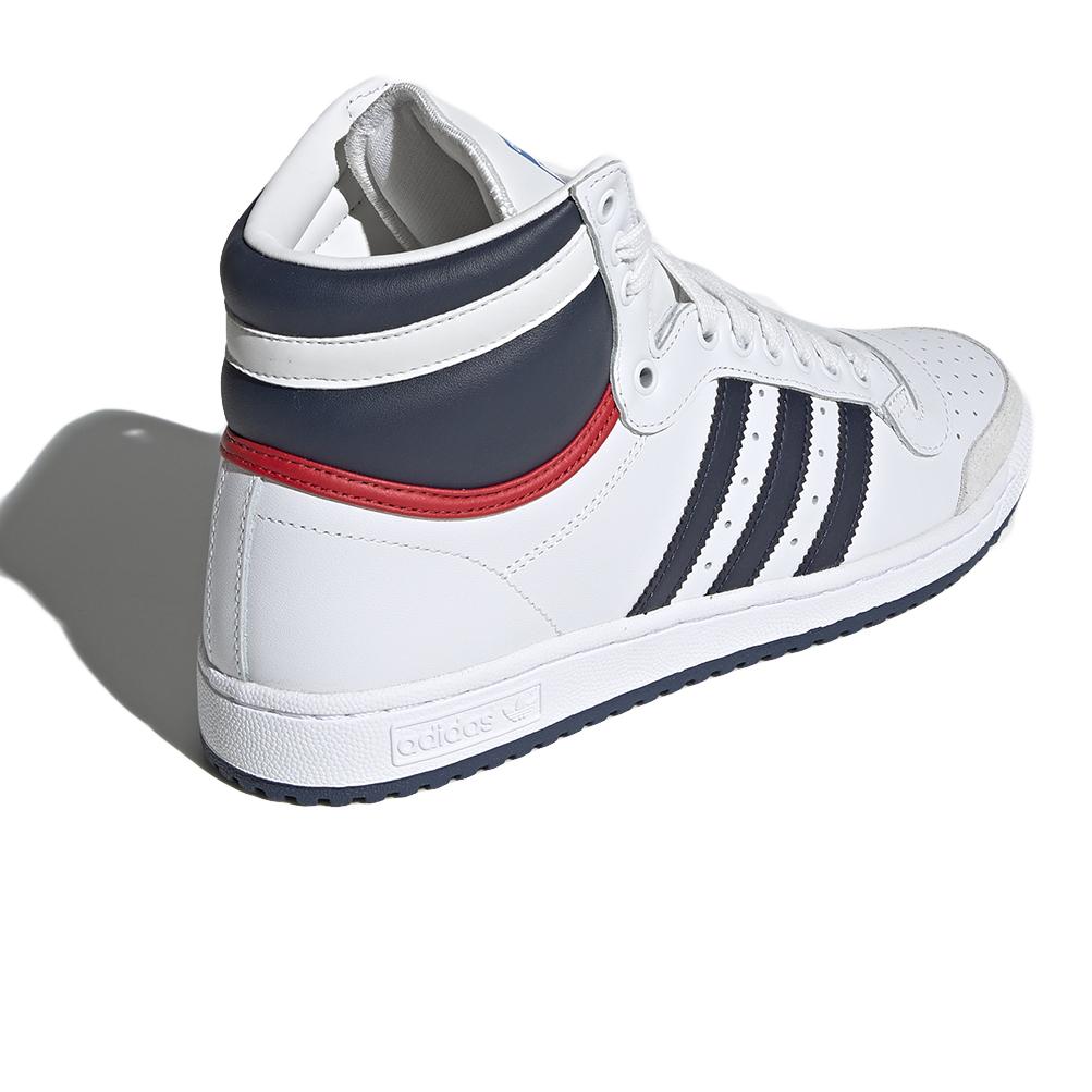 Dettagli su Scarpe Adidas Top Ten Hi Taglia 39 13 D65161 Bianco